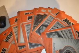 Motor bladen 1947-36 stuks