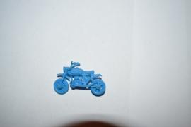 Cross motor blauw mini model