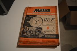 Motor bladen 1948-27 stuks