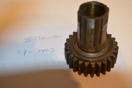 Triumph versnelling bak mainshaft T-1403/57-1403