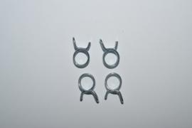 Knijp veer/clip 12 mm
