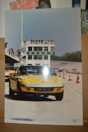Porsche Foto Plaat