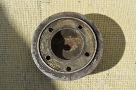 Cilinderkop aluminium 5 gats