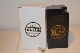 accu Blitz 0811/B 49-6  zwart onderhoudsvrij