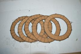 Triumph koppeling  platen