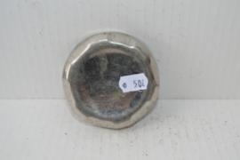 Benzineank dop chroom met vinger grepen