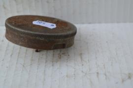 Benzinetank dop Engels metaal/roest Bajonet sluiting