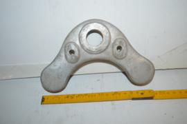 Balhoofdplaat aluminium 19 cm