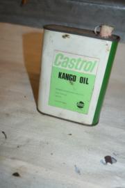 Blik Castrol Kango Olie