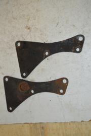 Triumph frame schetsplaten voorzijde 3HW