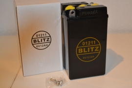 accu Blitz 01211/B 49-6 zwart
