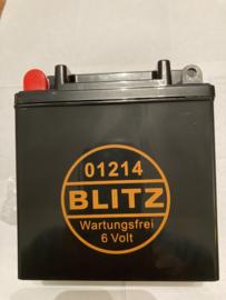 Accu Blitz 01214 onderhoud vrij 11 amphere