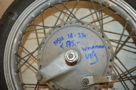 Nsu Achterwiel 18 inch Weinmann naaf