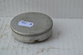 Benzinetank dop aluminium bajonet sluiting