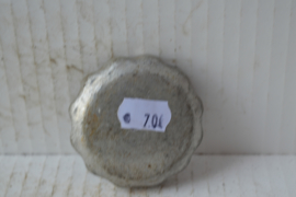 Benzinetank dop aluminium 12 vinger grepen