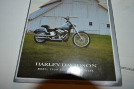 Harley Davidson folder 2001