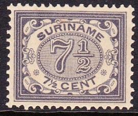 NVPH 47 Cijferzegels Postfris Cataloguswaarde 60,00 E-1540