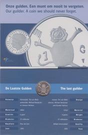 De Laatste gulden '' een munt om nooit te vergeten'' kwaliteit BU