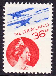 Luchtpost LP9b  Postfris Cataloguswaarde  75,00