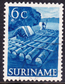 Plaatfout Suriname 300 P  gebruikt