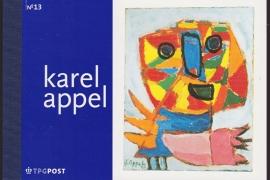 Prestigeboekje PR 13  Karel Appel  cataloguswaarde 16,00