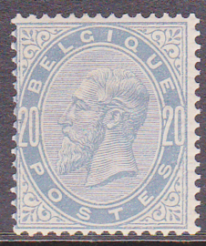 OBP   39 Z.M. Leopold II 1883 Ongebruikt / MH Cataloguswaarde: 250,00 E-3681
