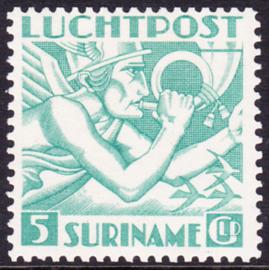 NVPH LP18 de 5 gulden  Mercuriuskop 1941 Ongebruikt cataloguswaarde: 400,00