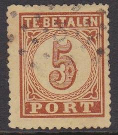 NVPH P1 Port 1 gebruikt cataloguswaarde 350,00 E-2920