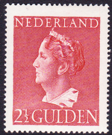 NVPH   347 Konijnenburg  Ongebruikt Cataloguswaarde 180.00