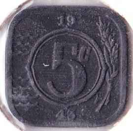 5 cent 1943 (Pracht)