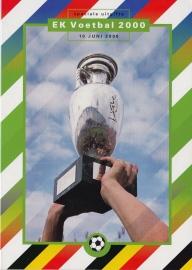Herinneringsmapje:  EK voetbal 2000  KR-SP1