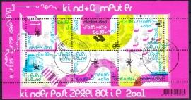 NVPH 2013 Kinderzegels  2001  Gestempeld cataloguswaarde 7,50 A-0543