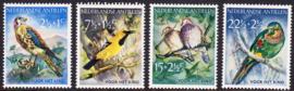 NVPH  271-274 Kinderpostzegels 1958 '' vogels'' Postfris cataloguswaarde: 8,00  E-8734