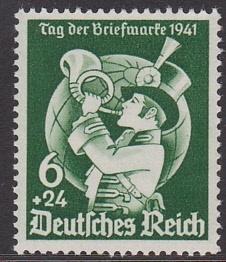 Mi 762 Tag der Briefmarken Postfris Cataloguswaarde: 6,50 E-2904
