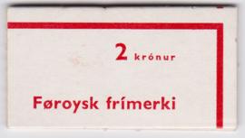 Voorloper postzegelboekje Postfris 6x MI:8 en 2x MI: 11 E-7896
