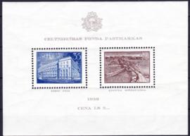 Litouwen Blok 1a  Postfris cataloguswaarde 18,00 A-0368