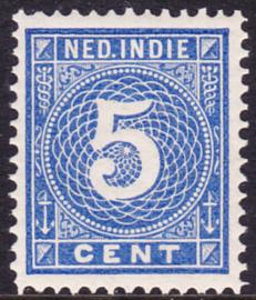 NVPH 22 Cijferzegel POSTFRIS cataloguswaarde: 100.00