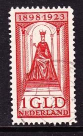 NVPH  129 Regeringsjubileum gebruikt Cataloguswaarde 10.00 E-2965