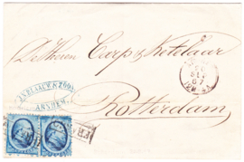 Tweede emissie Koning Willem III 1864