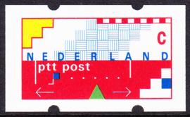 Automaatstrook Klussendorf ONBEDRUKT  postfris   E-1776