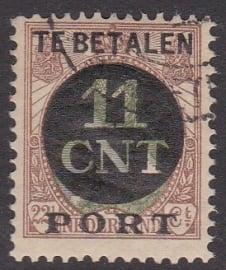 NVPH PV 1A Postpakket-verrekenzegel  gebruikt Cataloguswaarde 4.50  E-4588