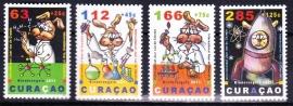 NVPH    54-57 Kinderzegels Curacao 2011 Postfris E-2794