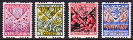 NVPH R78/R81 Roltanding Kinderpostzegels 1927 Postfris Cataloguswaarde 90.00