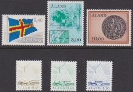 Åland 1984 Mi: 1-6  Postfris / MNH  Cataloguswaarde: 6,00 E-4300