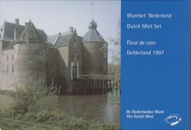Jaarset 1997 Koninklijke Ned. Munt in boekvorm FDC