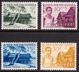 NVPH 41-44 Leprazegels Postfris cataloguswaarde 6,00 E-2226