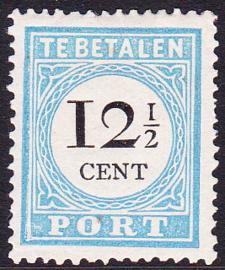 Port P8 TYPE III Cijfer en waarde in zwart Ongebruikt cataloguswaarde 220.00