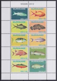 ZNB 1901-1910 Vissen 2012 Cataloguswaarde 26,05 A-0905