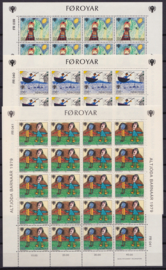 MI:  45-47   Vellen Kinderzegels 1979 Postfris  BK-SP1