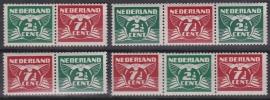 NVPH 379 a/d Vliegende duif rolzegels 1941 Postfris cataloguswaarde: 16,00